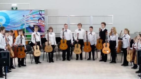 Детский ансамбль гитаристов из Воскресенска завоевал победу