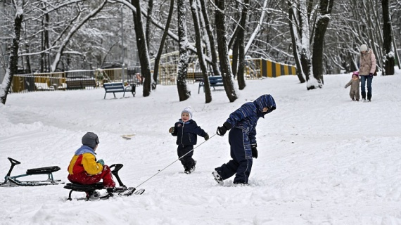 Снег в программе не предусмотрен