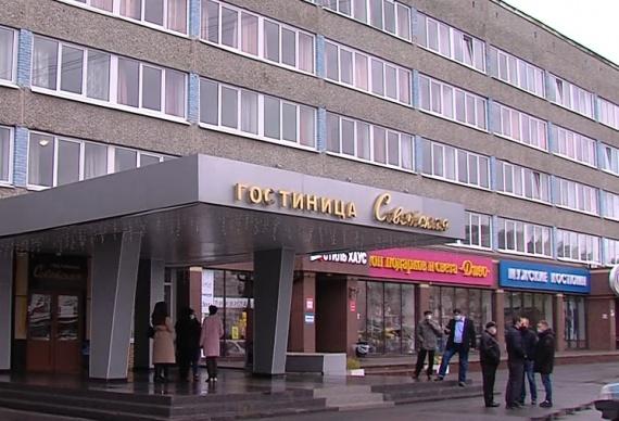 """Гостиница """"Советская"""" временно перепрофилирована в ковидный госпиталь"""