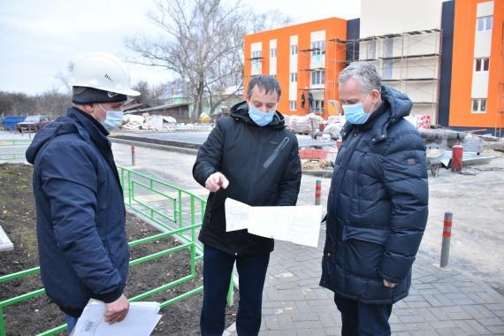 В Зарайске проверили, как идет переселение из аварийного жилья