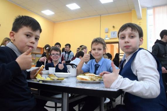 Школьники Воскресенска довольны питанием в столовых