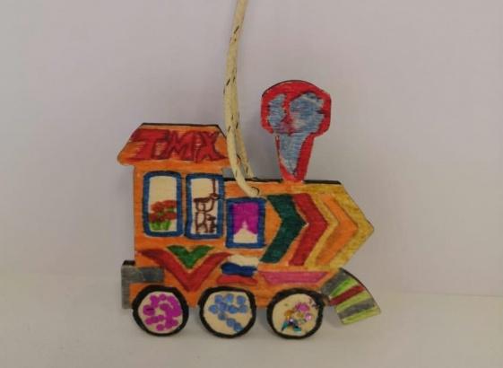 Лучшую елочную игрушку выбрали на Коломзаводе