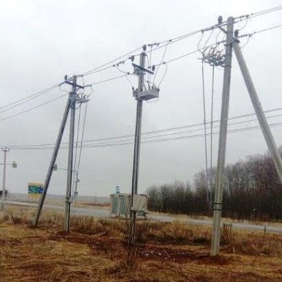 В Озерах модернизируют электрические сети