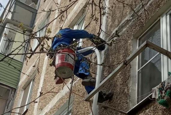 Промышленных альпинистов в Коломне стало больше