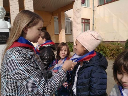 """Маленькие луховичане пополнили ряды детской общественной организации """"Мы"""""""