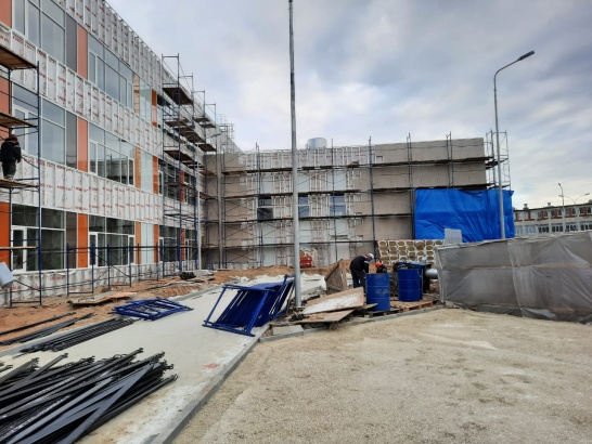 Строительство близится к завершению