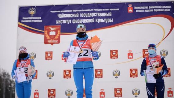 Биатлонистка из Воскресенска стала второй на чемпионате России