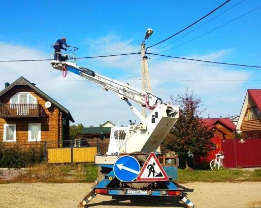 Коломенские электросети улучшают качество уличного освещения