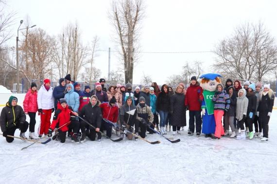 День зимних видов спорта провели в ГСГУ