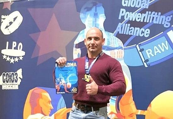 Студент из Коломны стал чемпионом мира по пауэрлифтингу