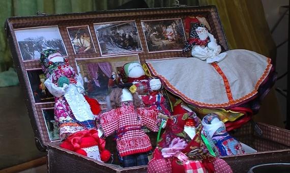 Первые куклы предназначались для обрядов
