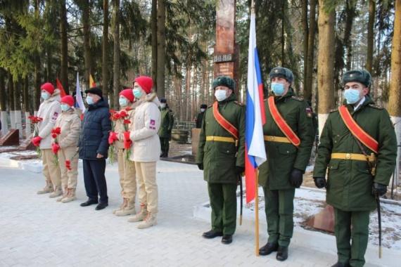 Мемориал в Егорьевске открыли после реконструкции
