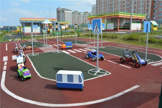 В Коломне начали строить детский автогородок